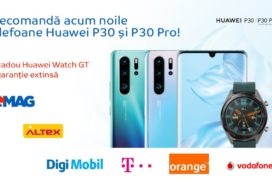 Ce preturi la pre-comanda are Huawei P30 si P30 Pro in Romania (eMAG, Altex, Vodafone, Orange...)