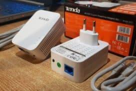 Kit Tenda PH3 AV1000 Gb Powerline foloseste reteaua electrica pentru extinderea unei retele Ethernet