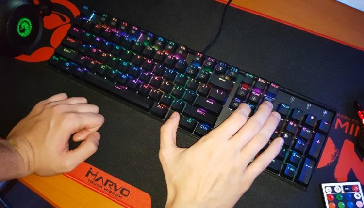 Review Tastatura de gaming mecanica Redragon Mitra RGB Black (K551RGB-1-BK)