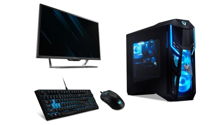 Acer a lansat noul desktop Predator Orion 5000, monitorul Predator LFGD de 43 inci si noi periferice de gaming