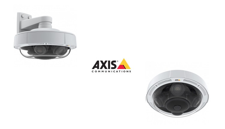 Axis anunta camera video de supraveghere multidirectionala P3719-PLE