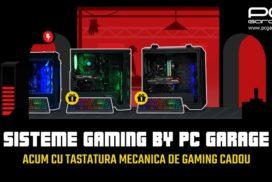 PC Garage ofera cadou o tastatura mecanica la toate sistemele de gaming