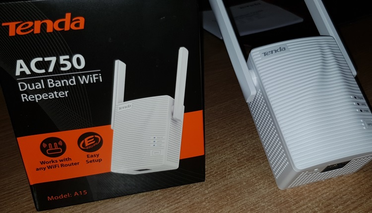 Review Tenda A15 (AC750) WIFI Range Extender Dual-Band