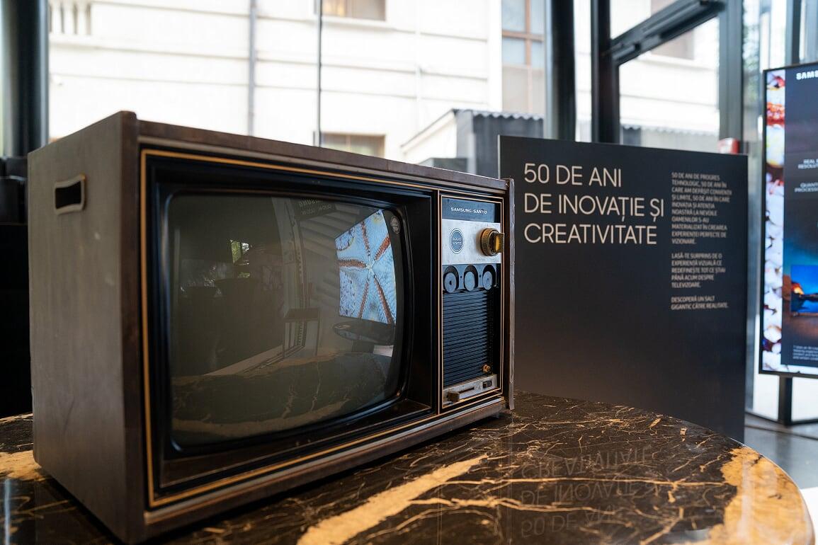 Samsung sarbatoreste primii 50 de ani de istorie cu lansarea Samsung QLED 2019 in Romania