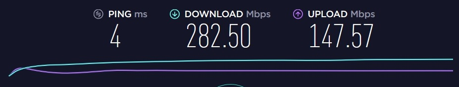 speedtest LAN