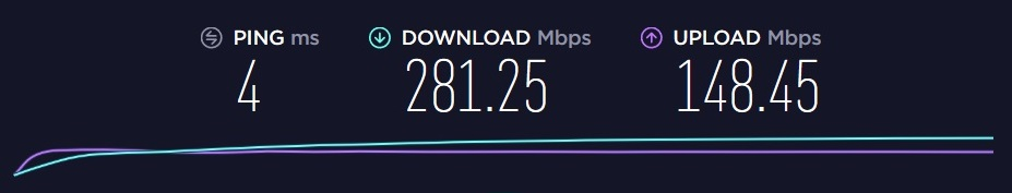 speedtest wifi 5Ghz