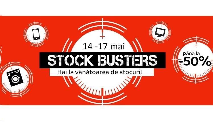 Noi reduceri la eMAG-Stock Busters 14 mai 2019