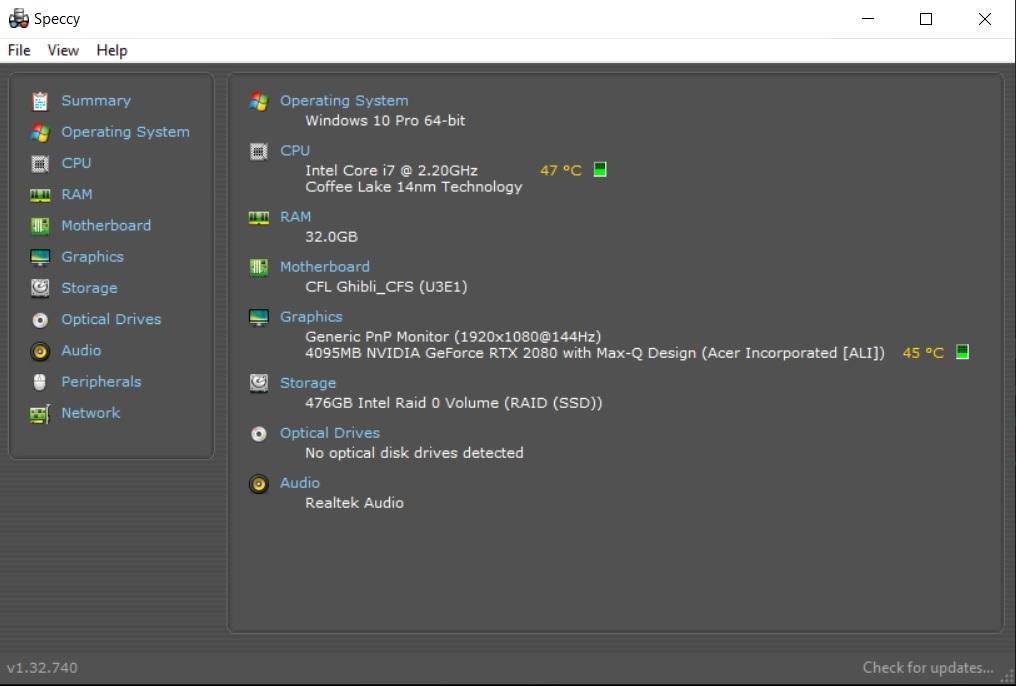 Joaca continua cu Acer Predator Triton 500, laptop echipat cu placa grafica GeForce RTX 2080-specs