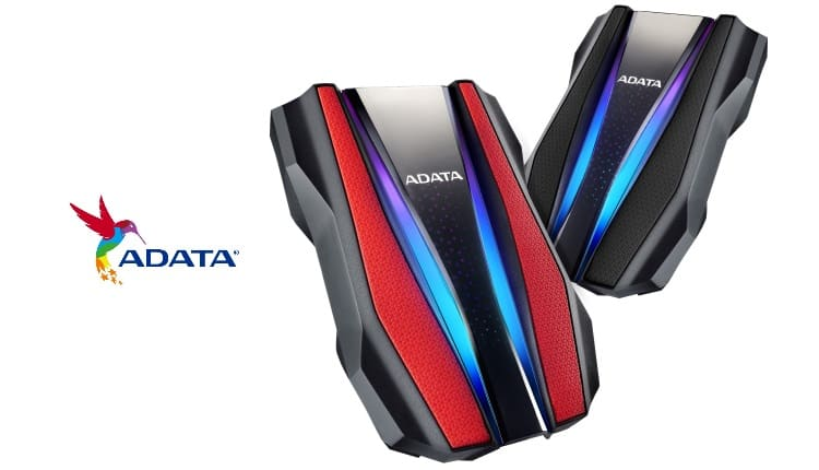 ADATA HD770G este primul HDD extern rezistent din lume cu iluminare RGB