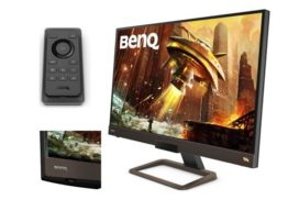 BenQ anunta EX2780Q, un nou monitor de gaming cu telecomanda si difuzoare 2.1 incorporate