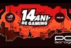 PCGarage implineste 14 ani cu reduceri si 2000 de periferice de gaming ASUS cadou