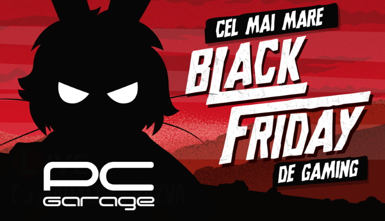 Black Friday de Gaming la PCGarage-2019