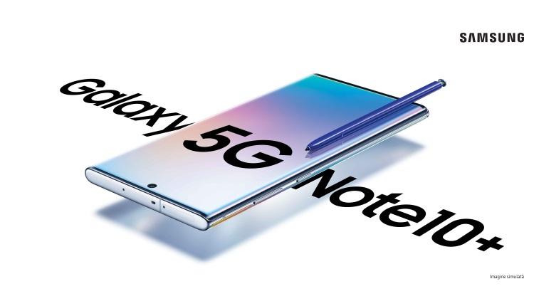 Samsung a lansat în România Galaxy Note10+ 5G