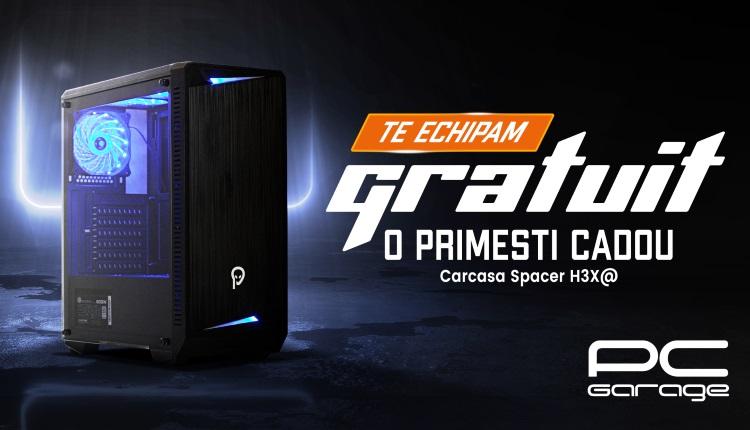 PC Garage ofera cadou o carcasa Spacer H3X