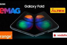 Samsung Galaxy Fold este disponibil oficial în România-preţurile afişate la eMAG, Orange, Vodafone, Altex