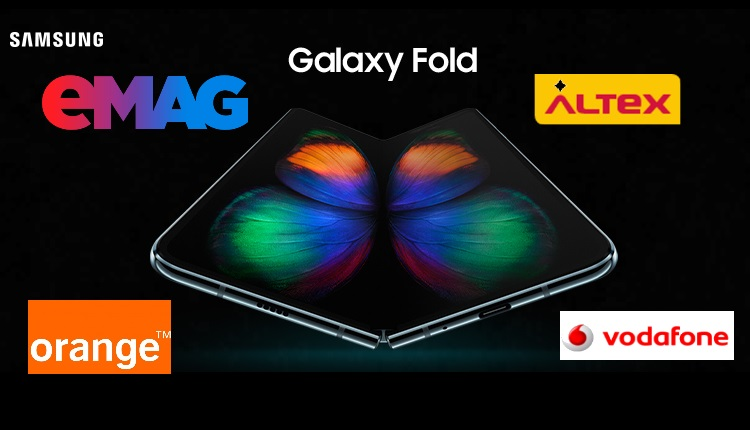 Salsung Galaxy Fold este disponibil oficial in Romania, preturile afisate la eMAG, Orange, Vodafone, Altex
