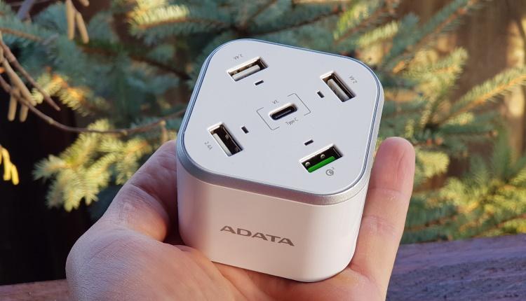 ADATA USB Charging Station (CU0480QC)-voi câte prize folosiţi să vă încarcaţi gaget-urile-ss