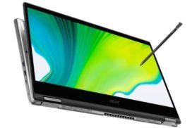 Acer anunta noile dispozitive convertibile din gama Spin