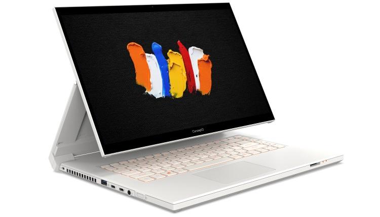 Acer anunta notebook-urile convertibile din seria ConceptD 7 Ezel și stația de lucru ConceptD 700
