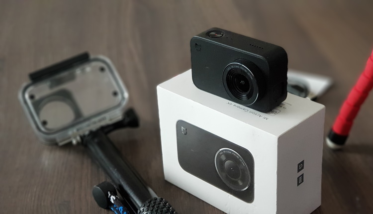 Cum filmeaza camera Xiaomi Mi 4K subacvatic (snorkeling)