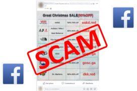 """SCAM pe Facebook """"Greate Chrismas SALE"""""""