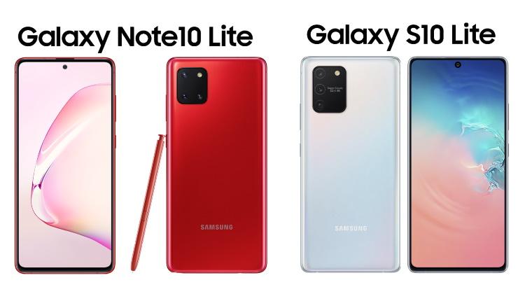 Samsung a lansat Galaxy S10 Lite și Note10 Lite