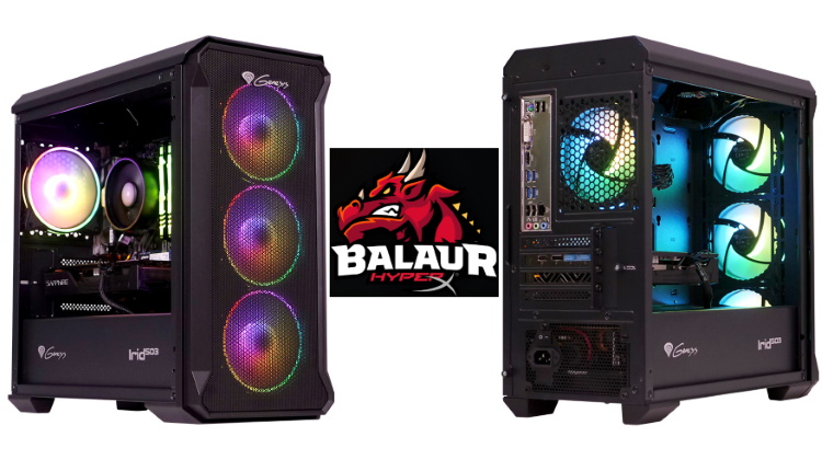 PC Garage lansează Balaur by HyperX, un PC de gaming de 3.699 lei