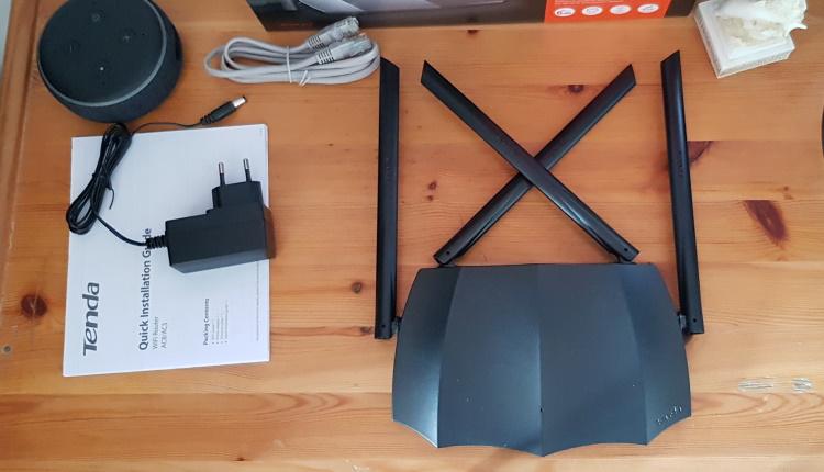 Review router Tenda AC8 - un Batman ieftin, performat si usor de folosit-ss