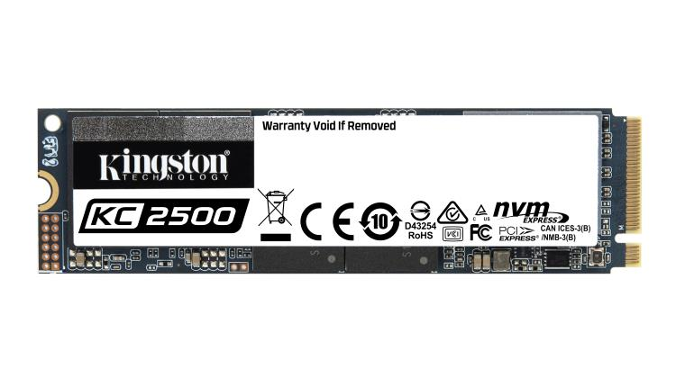 Kingston lansează noul SSD NVMe PCIe KC2500