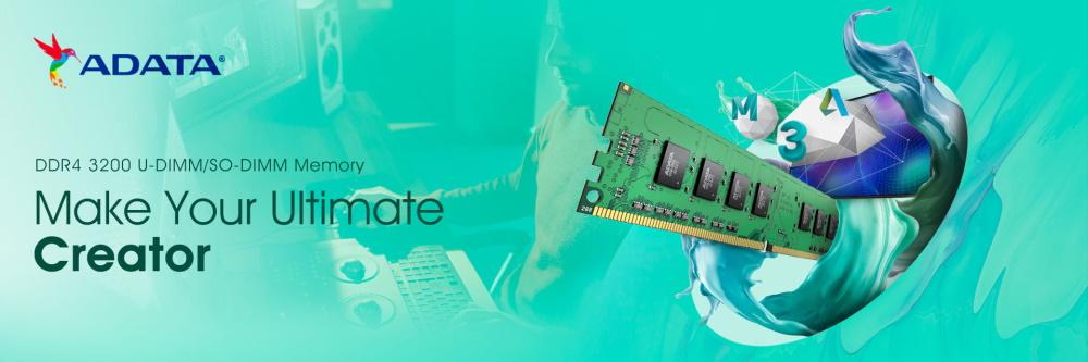 ADATA lansează campania 'Build to Create' în care prezintă produsele pentru creatorii de conținut-DRAM