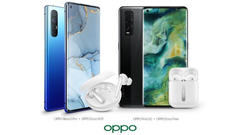 OPPO Reno3 Pro 5G și Find X2 sunt disponibile la precomandă in România