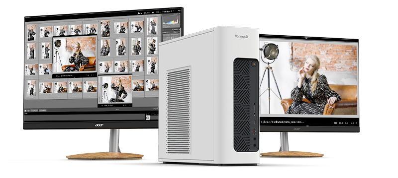 Acer a lansat noi notebook-uri, desktop-uri si monitoare din seria ConceptD-100-CM100-51A