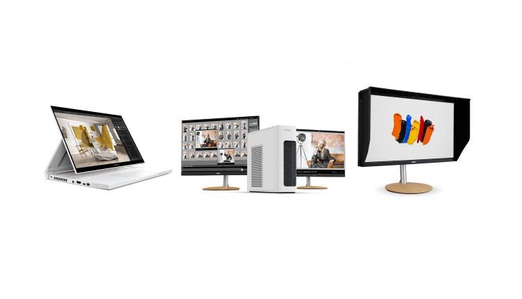 Acer a lansat noi notebook-uri, desktop-uri si monitoare din seria ConceptD