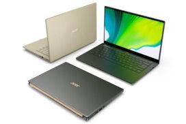 Acer a lansat o noua versiune a notebook-ul Swift 5