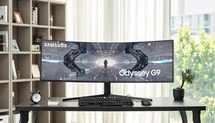 Samsung lansează Odyssey G9, cel mai performant monitor curbat de gaming din lume