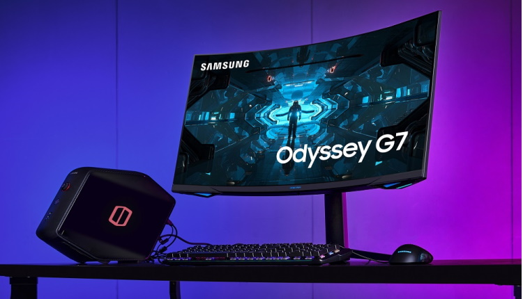 Samsung lansează monitorul curbat de gaming Odyssey G7 de 1000R