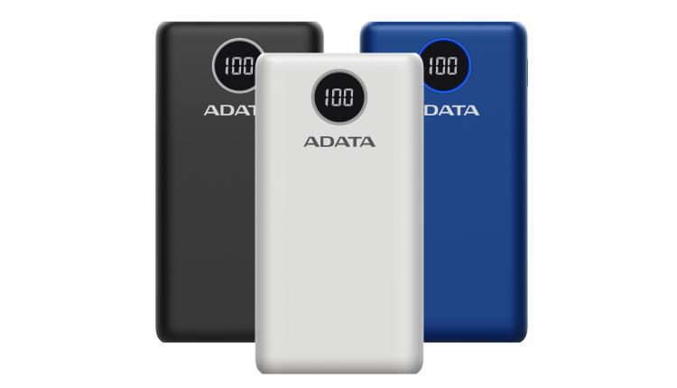 ADATA a lansat P10000QCD de 10.000 mAh si P20000QCD de 20.000mAh, baterii externe cu capacitate mare și fast charging