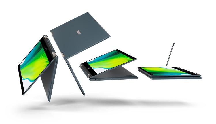 Acer Spin 7 este primul notebook din lume cu platforma Qualcomm Snapdragon 8cx Gen 2 5G și cu sistem de operare Windows