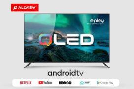 Allview lansează primele modele QLED cu Android TV cu diagonală de 50 inci si 65 de inci
