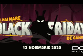 Black Friday 2020 la PCGarage-cel mai mare Black Friday de Gaming (13 noiembrie)!