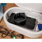 Sterilizator UV-C cu încarcare wireless de 10W, UNIQ LYFRO Air Capsule All in One