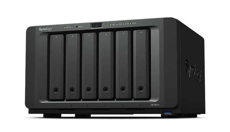 Synology a lansat DS1621+, primul NAS echipat cu AMD Ryzen