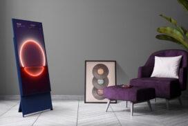 Televizorul Samsung din gama de lifestyle The Sero s-a lansat comercial în România
