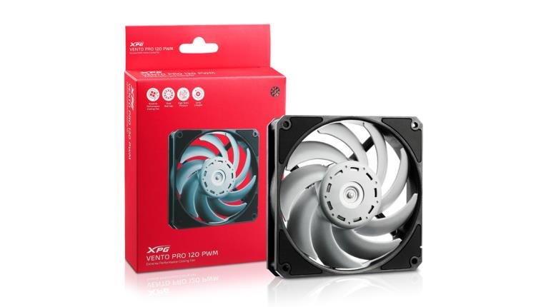 XPG lanseaza ventilatorul VENTO Pro 120 PWM