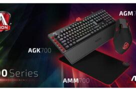 AOC lansează periferice de gaming în România: tastaturi mecanice, mouși și mouse pad-uri cu iluminare RGB si compatibilitate AOC G-Tools