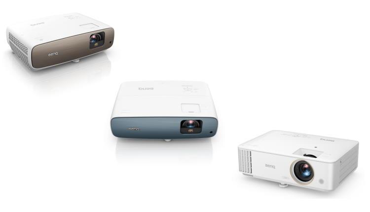 BenQ anunţă noile videoproiectoare Home Cinema 4K HDR, echipate cu Android TV
