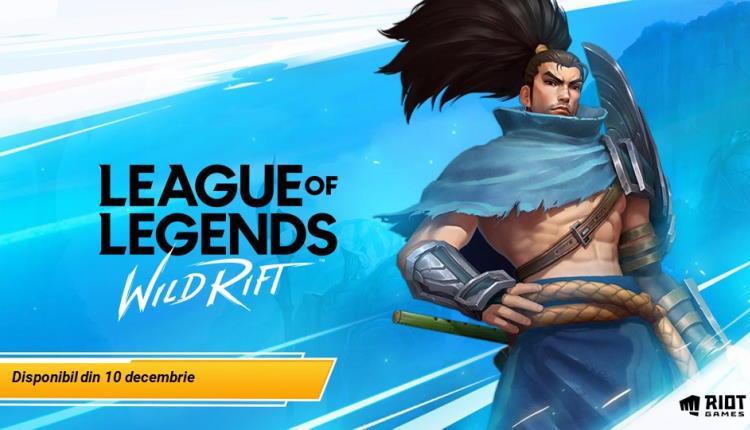 League of Legends Wild Rift, versiunea de mobil, s-a lansat astăzi în România şi este gratuit