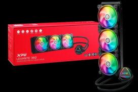 XPG lansează coolerul LEVANTE 360 cu răcire lichidă şi iluminare RGB