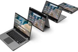 Chromebook Spin 514 este primul Chromebook Acer cu procesor AMD Ryzen