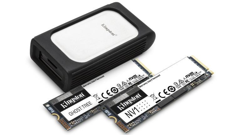 Kingston a lansat o noua gamă de SSD-uri NVMe